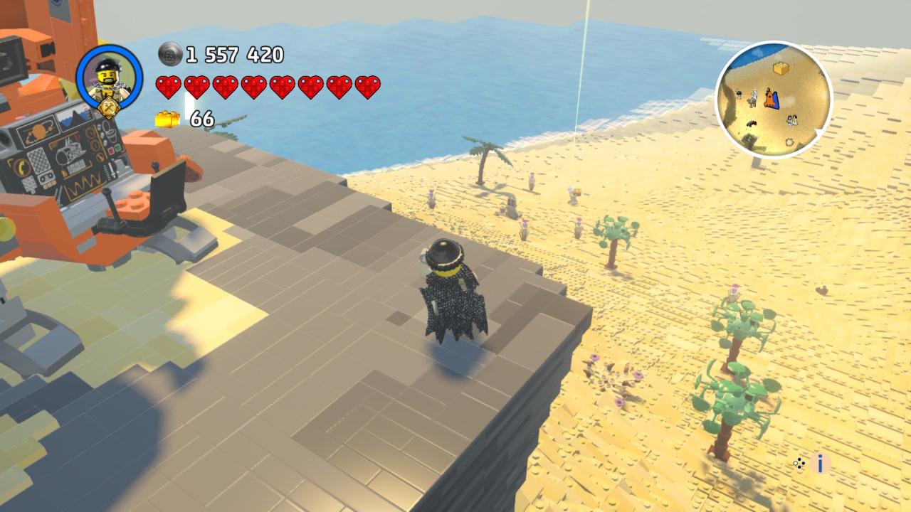 Il sent bon le sable chaud mon bonhomme LEGO